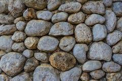 Tło kamienna ściana w Shivta - antyczny miasto w pustynia negew, Izrael Fotografia Stock