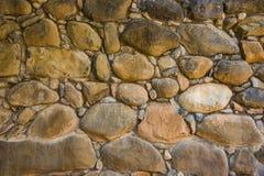 Tło kamienna ściana w Shivta - antyczny miasto w pustynia negew, Izrael Zdjęcie Stock