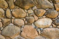 Tło kamienna ściana w Shivta - antyczny miasto w pustynia negew, Izrael Obraz Stock