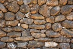 Tło kamienna ściana w Shivta - antyczny miasto w pustynia negew, Izrael Obrazy Stock