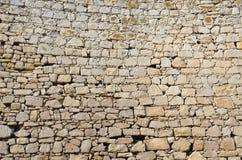 Tło kamiennej ściany tekstura obrazy royalty free