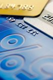 tło karty kredytowe obraz stock