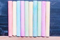 Tło kolorowa pastel kreda Pojęcie sztuka, zdjęcia stock
