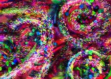 tło kolorowa tapeta Kolorowy abstrakcjonistyczny akrylowy obraz mikstura koloru tło Czerwony tło obrazy royalty free