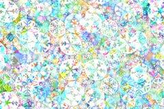 Tło kolorowi pasiaści boże narodzenia zdjęcie stock