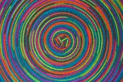 Tło kolorowy łomota stołowy położenie Zdjęcia Stock