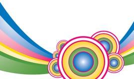 tło kolorowy ilustracja wektor