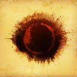 Tło koloru brown punkty plamy kawy ornamentu geometryczne tła księgi stary rocznik ilustracji