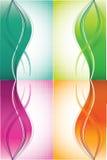 tło koloru fala ilustracji