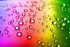 tło kroplę wody Fotografia Stock