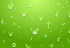 tło kropli wody Świeży aqua lub zdrowy naturalny pojęcie ilustracji