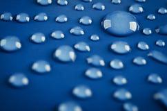 tło kropli wody Zdjęcie Stock