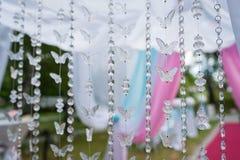 tło kryształu motyl Zdjęcia Stock