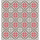 Tło krzyż geometryczni ornamenty Fotografia Stock