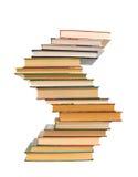 tło książki odizolowywali biel Obrazy Stock