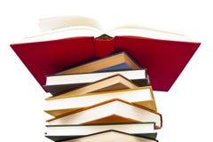 tło książki odizolowywali biel Obraz Stock