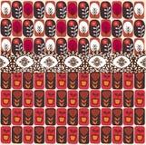 tło kształty koronkowi czerwoni Obrazy Stock
