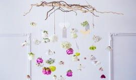 tło kwiaty piękni kolorowi Zdjęcia Royalty Free