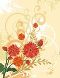 tło kwieciste serii ilustracja wektor