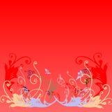 tło kwiecisty royalty ilustracja