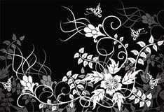 tło kwiecisty wektora royalty ilustracja
