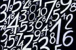 Tło liczby od zero, dziewięć Liczy teksturę 3d coloured waluty wysokiego ilustracyjnego wizerunku wielo- postanowienia symbole mn obraz stock