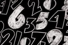 Tło liczby od zero, dziewięć Liczy teksturę 3d coloured waluty wysokiego ilustracyjnego wizerunku wielo- postanowienia symbole mn fotografia royalty free