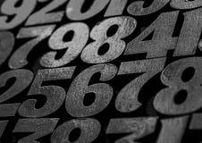 Tło liczby od zero, dziewięć tła ilustracyjny liczb wektor Liczy teksturę Mathematics pojęcie zdjęcia royalty free
