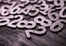 Tło liczby od zero, dziewięć tła ilustracyjny liczb wektor Liczy teksturę Mathematics pojęcie zdjęcie royalty free