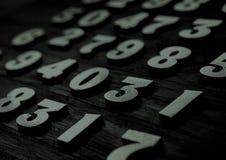 Tło liczby od zero, dziewięć tła ilustracyjny liczb wektor Liczy teksturę Mathematics pojęcie fotografia royalty free