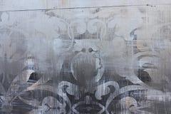 Tło malujący metal Zdjęcie Royalty Free