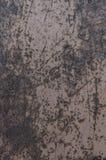 Tło metalu czarny i biały ośniedziały prześcieradło zdjęcie stock