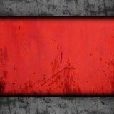 Tło metalu tekstury żelaza grunge czerwona ściana stara zdjęcie royalty free