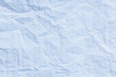 tło miący papierowy tekstury biel Obraz Royalty Free