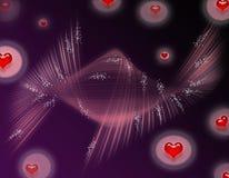 tło miłość Obrazy Stock