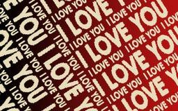 tło miłość Obraz Royalty Free