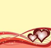 tło miłość ilustracji