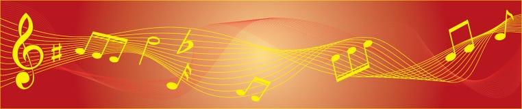 tło musical ilustracji