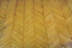 tło na ciemne odłamka wewnętrznego brown drewna Stara parkietowa podłoga Obrazy Royalty Free