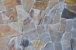 Tło niebieskie światło sztuczne kamienna ściana Zdjęcia Royalty Free