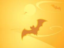 tło nietoperz Halloween Zdjęcia Stock