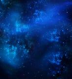 Tło nocne niebo Obrazy Royalty Free