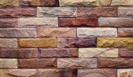 Tło nowożytna kamienna ceglana tekstura Obraz Royalty Free
