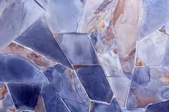 Tło nowożytna kamienna ceglana tekstura, abstrakcjonistyczna piaska lub granitu ściana Zdjęcia Stock