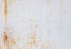Tło ośniedziały metal starzejąca się tekstury powierzchnia Zdjęcia Stock