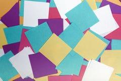 Tło od barwiących majcherów Fotografia Stock