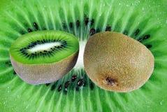 Tło od cięcia owoc kiwi Obraz Stock