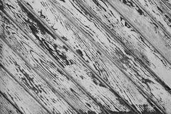 Tło od czarno biały desek Obrazy Stock