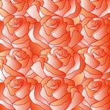 Tło od czerwonych róż Fotografia Stock