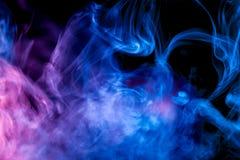 Tło od dymu vape zdjęcia royalty free